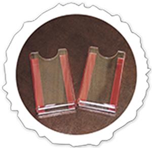 Настенный держатель для визиток            вертикальный